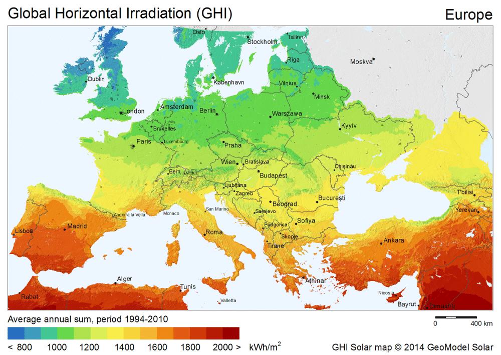 Solar Insolation Calculator Sun Hours Solar On A Budget