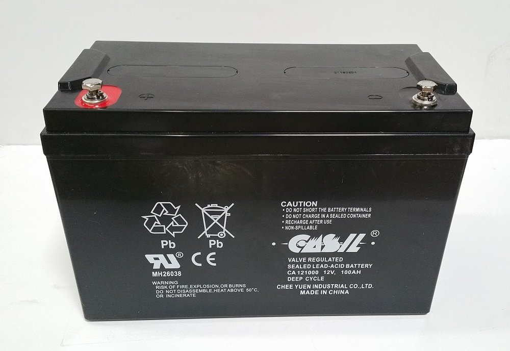 Battery for RENOGY PV SOLAR PANELS